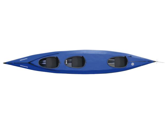 Triton advanced Vuoksa 3 advanced Kayak Complete set, blue/black